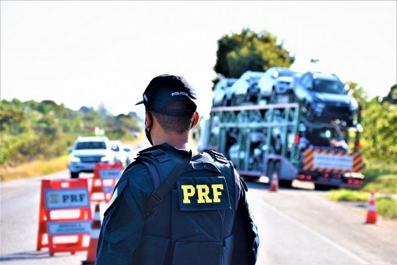 PRF na Bahia inicia ações da Operação Rodovida 2020/2021 com foco na redução da violência no trânsito