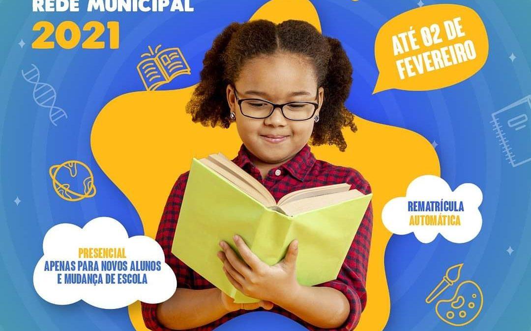 SÃO FÉLIX: Prefeitura realiza matrículas da Rede Municipal de Ensino
