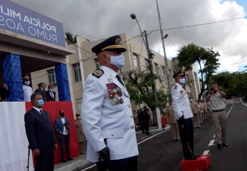 Novo comandante-geral da Polícia Militar, coronel Paulo Coutinho toma posse do cargo