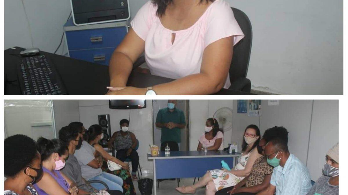NOVA SECRETÁRIA DE ASSISTÊNCIA SOCIAL DE SÃO FÉLIX, ÂNGELA SANTOS, TOMA POSSE, NESTA MANHÃ DE TERÇA-FEIRA (05).