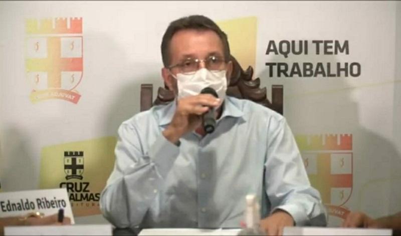 Prefeito de Cruz das Almas garante que município está preparado para receber a vacina contra a covid-19