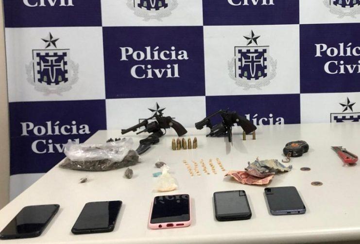 Santo Amaro: suspeito de tráfico é morto em confronto com policiais e outros dois são presos.