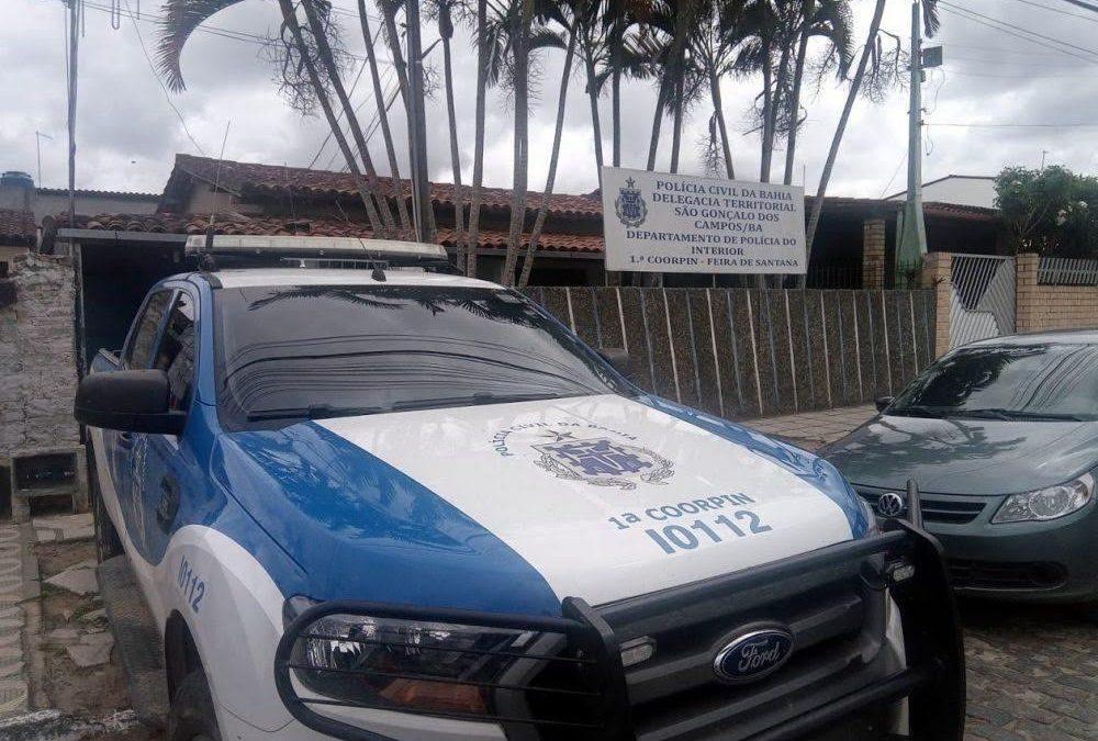 Homem é preso por tentativa de feminicídio em São Gonçalo dos Campos