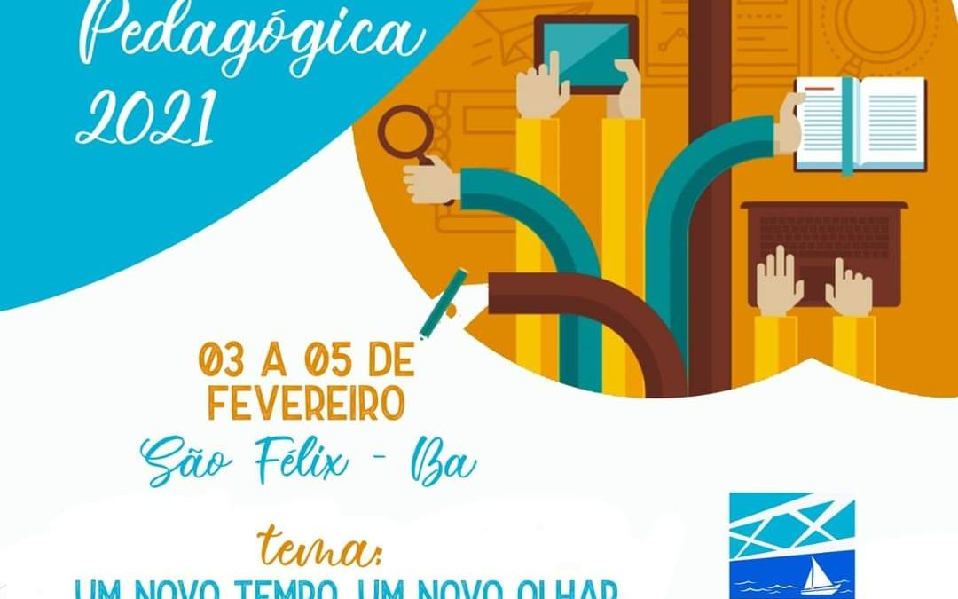 SÃO FÉLIX : SECRETARIA DE EDUCAÇÃO REALIZARÁ TRÊS DIAS DE JORNADA PEDAGÓGICA NO MUNICÍPIO