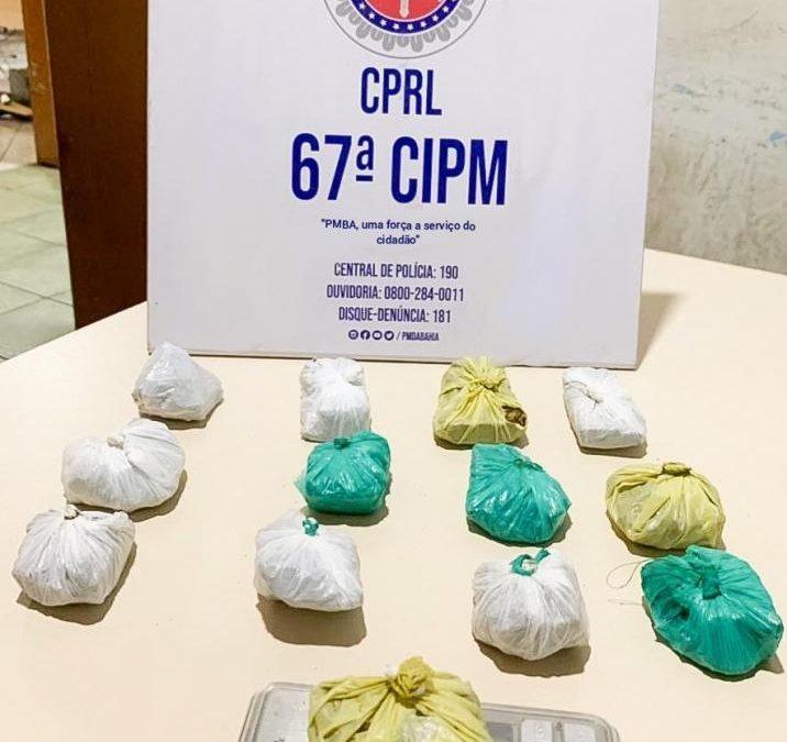 São Gonçalo dos Campos: Operação Rebote apreende droga e captura suspeito de tráfico