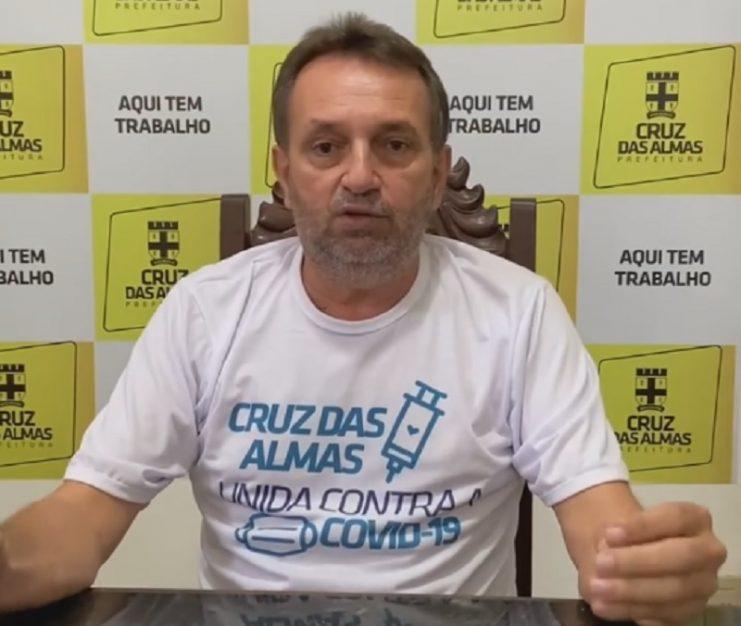 Cruz das Almas: Prefeito Ednaldo Ribeiro sanciona lei que torna as academias como serviços essenciais